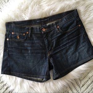 Ralph Lauren Dark wash Denim Shorts 31